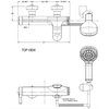 Sen tắmAmerican Standard WF-6811 nóng lạnh