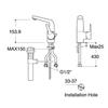 Vòi chậu lavabo American StandardWF-0501 nóng lạnh1 lỗ (FC)