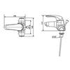 Vòi lavaboAmerican Standard WF-1502 3 lỗ (EC)nóng lạnh