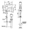 Vòi lavaboAmerican StandardWF-6501 nóng lạnh chậu 1 lỗ (FC)