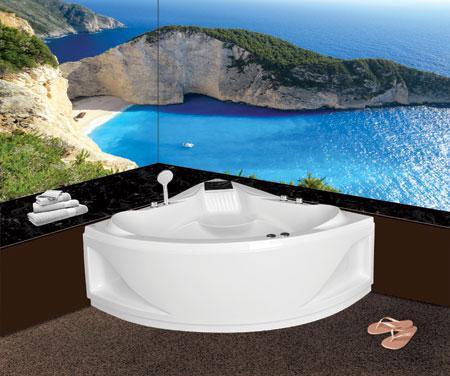 Bồn tắm gócEurocaEU4-1400massageAcrylic