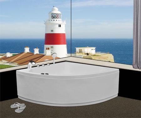 Bồn tắm gócEurocaEU5-1400massageAcrylic