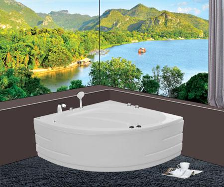 Bồn tắm gócEurocaEU1-1200massageAcrylic