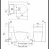 Bồn cầu điện tử InaxAC-1017R+CW-KA22AVN
