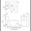 Bồn cầu điện tửInaxAC-909R+CW-KB22AVN
