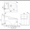Bồn cầu điện tửInaxAC-1008R/CW-H18VN