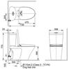 Bồn cầu điện tửInaxAC-700A/CW-H18VN
