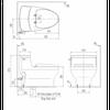 Bồn cầu InaxAC-4005/CW-S15VN nắp rửa cơ