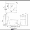 Bồn cầu InaxAC-909R/CW-S15VN nắp rửa cơ
