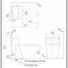Bồn cầu InaxAC-918R/CW-S15VN nắp rửa cơ