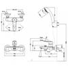 Bộ sen tắm Inax BFV-1403S-4C nóng lạnh