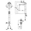 Vòi lavabo INAX LFV-1402SH thân cao