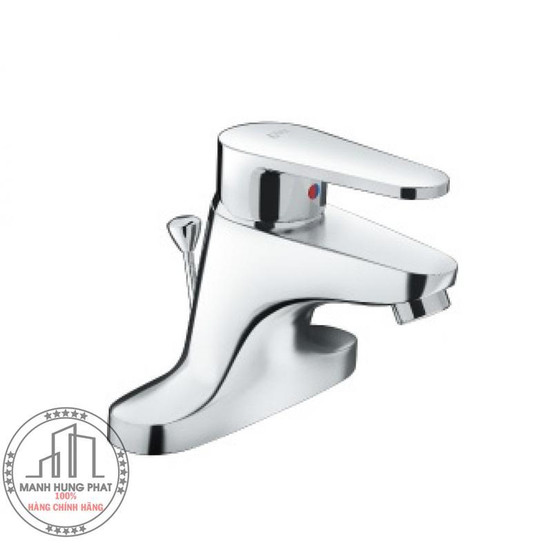 Vòi chậu lavabo INAXLFV-1201S-1 nóng lạnh3 lỗ (EC)