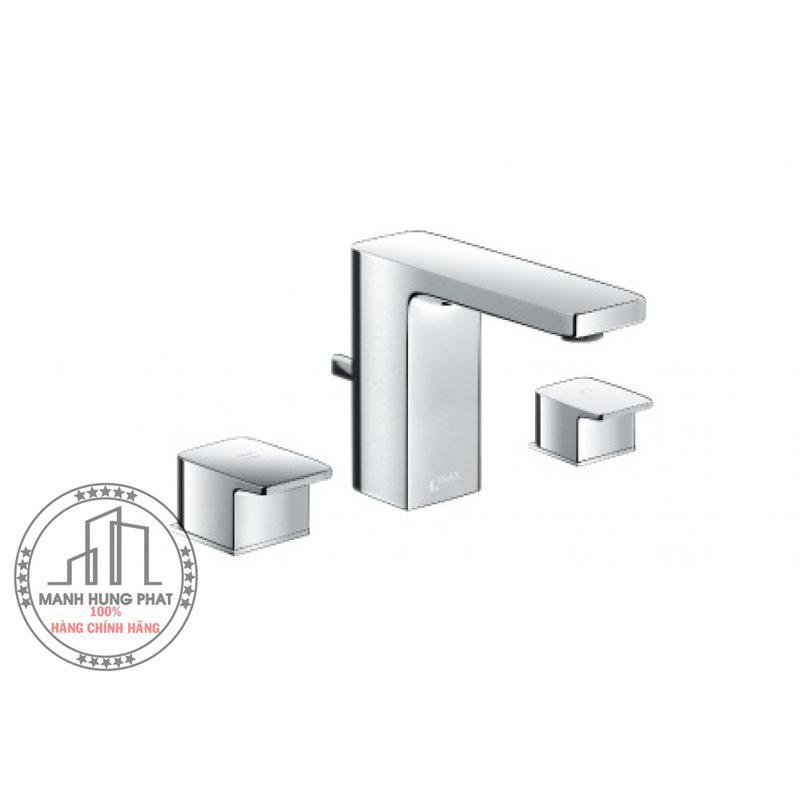 Vòi chậu lavabo inax LFV-5010S nóng lạnh riêng 3 lỗ