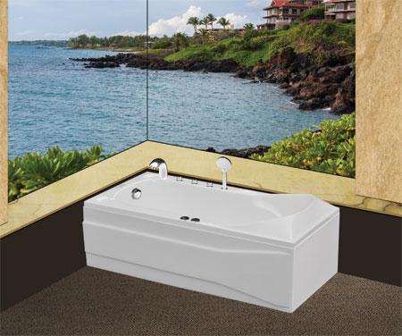 Bồn tắm nằmEurocaEU5-1780massageAcrylic
