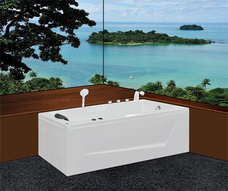 Bồn tắm nằmEurocaEU2-1775massageAcrylic