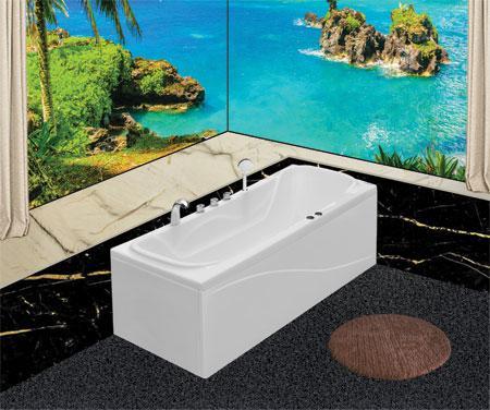 Bồn tắm nằmEurocaEU3-1775massageAcrylic