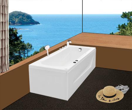 Bồn tắm nằmEurocaEU5-1775massageAcrylic