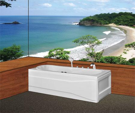 Bồn tắm nằmEurocaEU1-1770massageAcrylic