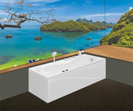 Bồn tắm nằmEurocaEU2-1770massageAcrylic