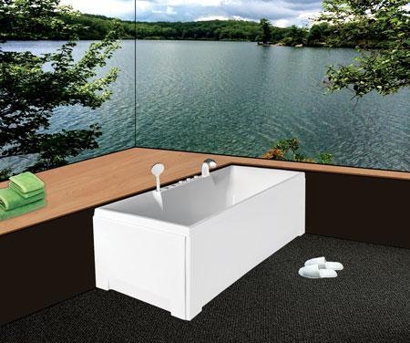 Bồn tắm nằmEurocaEU1-1570 massageAcrylic