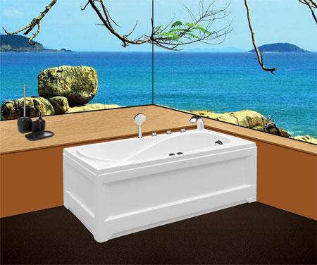 Bồn tắm nằmEurocaEU1-1475 massageAcrylic