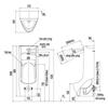 Bồn tiểu nam INAXASU-500V cảm ứng