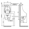 bồn tiểu namAmerican StandardWP-6727treo tường