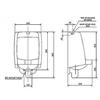 Bồn tiểu namAmerican StandardVF-6401 Mini Washbrooktreo tường