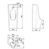 Bồn tiểu namAmerican StandardWP-6605 Lynbrook 0.9L đặt sàn