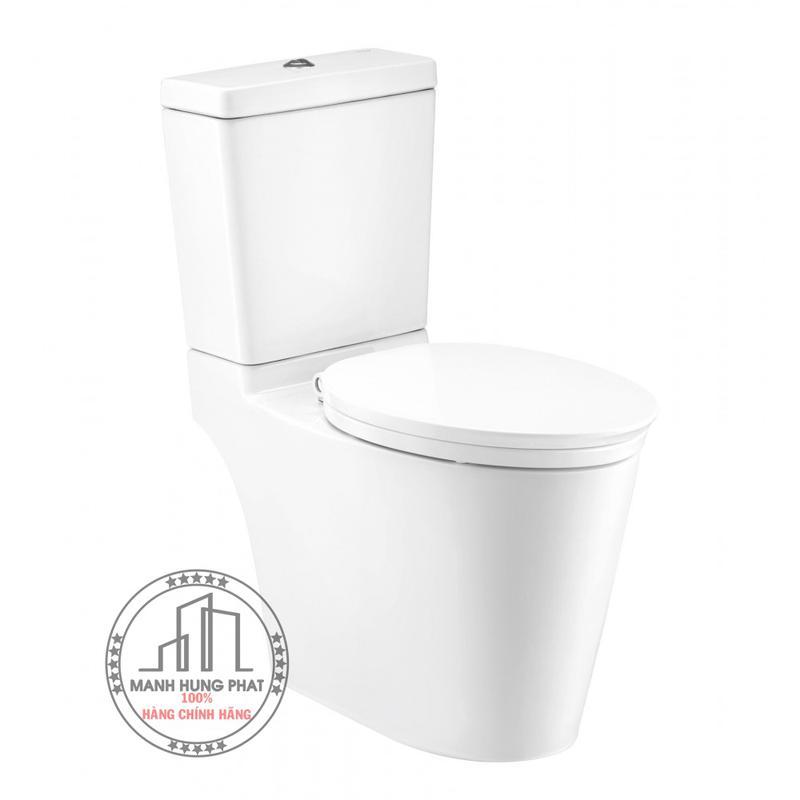 Bồn cầu 2 khối Cotto C167507 nắp đóng êm Dual Flush