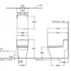 Bồn cầu điện tử CottoC107127(CN)