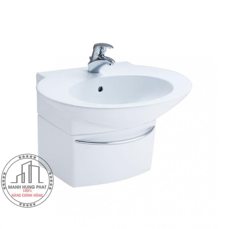 Chậu lavabo CottoSC01027 chân ngắn Charisma