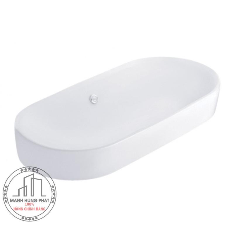 Chậu lavabo Cotto C002517đặt bàn Olix 90