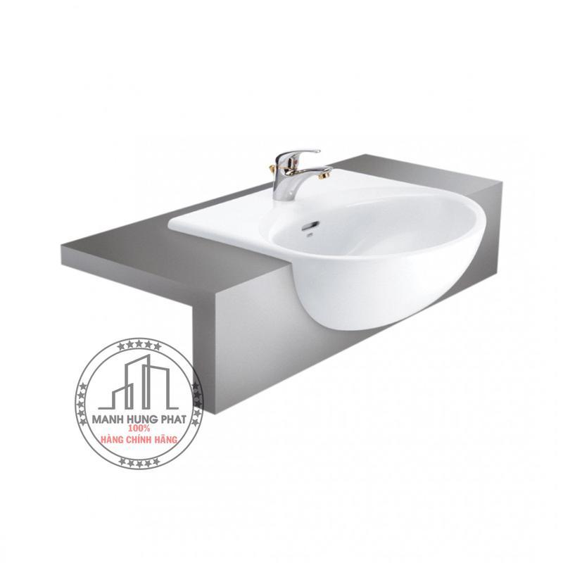 Chậu lavabo Cotto C021 bán âmbàn Hellen