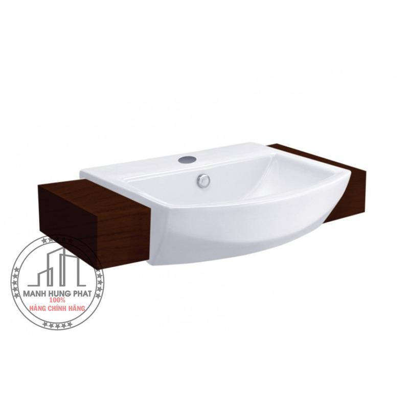 Chậu lavabo CottoC02427 bán âm bàn