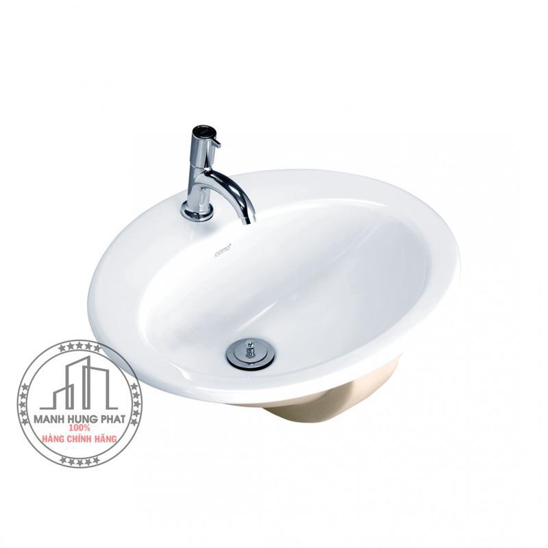 Chậu lavabo Cotto C029 dương vành Lisa