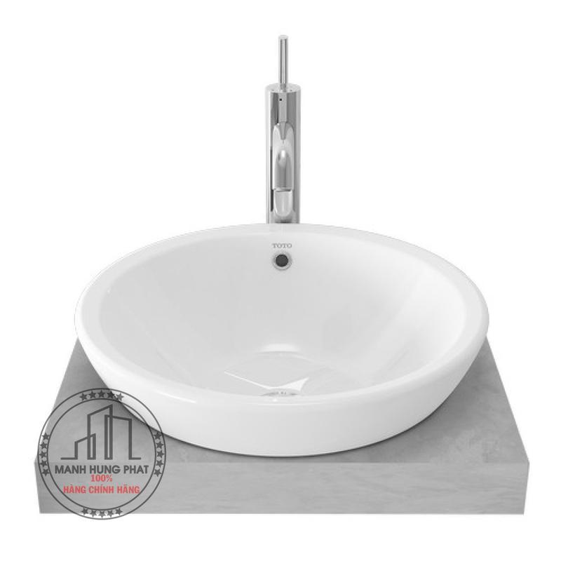 Chậu lavabo TOTO LW526NJ đặt bàn