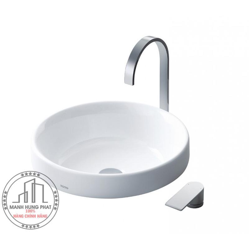 Chậu lavabo TOTO LW1704B đặt bàn