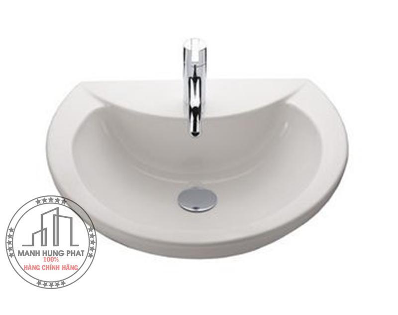 Chậu lavabo TOTO LW824CJW/F bán âm bàn