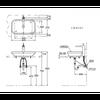 Chậu rửa Lavabo TOTO LW630JW/F đặt bàn