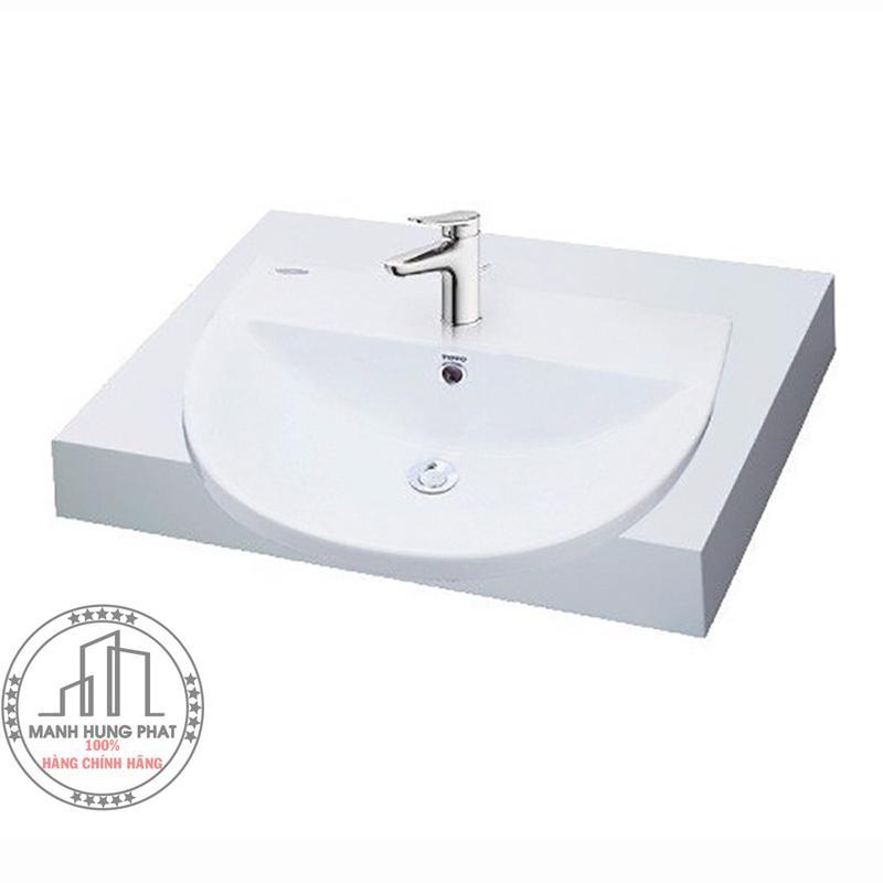 Chậu rửa Lavabo TOTO LW983B bán âm bàn