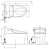 Bồn cầu điện tử american standard WP-5017